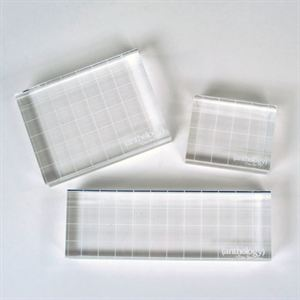 Picture of *50% OFF* Anthology Acrylic Blocks, 3 piece set *SALE* WHILE SUPPLIES LAST